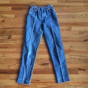 LEVI's 631 Orange Tab Vintage High Waist Mom Jeans